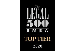 EMEA Top Tier Firms 2020