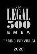 Legal 500 Leading Individual logo