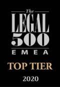 Legal 500 Top Tier logo